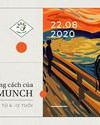 """Workshop trực tuyến """"Khám phá phong cách của Edvard Munch"""""""