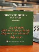 Nguyễn Phong Việt trải lòng mình với thơ