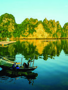 Tản mạn chuyện cá, đi câu trên vịnh Bái Tử Long
