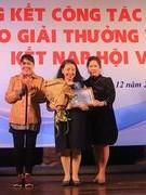 Hanoi's writer honoured with lifelong literary achievement award