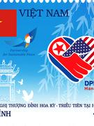 """Phát hành bộ tem """"Chào mừng Hội nghị thượng đỉnh Hoa Kì - Triều Tiên tại Hà Nội"""""""