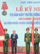 Học viện Quân y kỉ niệm 70 năm ngày truyền thống và đón nhận Huân chương Hồ Chí Minh lần thứ hai