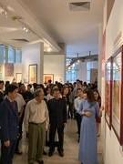 Ho Chi Minh portrait exhibition opens in Hanoi