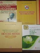 Tác giả có nhiều đầu sách 'Học và làm theo Bác Hồ'