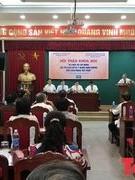 """Hội thảo khoa học """"Di chúc Hồ Chí Minh: Giá trị lịch sử và ý nghĩa định hướng cho cách mạng Việt Nam"""""""