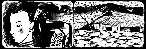 Tiếng đàn môi sau bờ rào đá