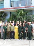 Đoàn cựu chiến binh tham gia giải phóng Cánh đồng Chum thăm lại chiến trường xưa