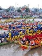 Khmer people's Ok Om Bok festival opens in Tra Vinh