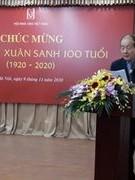 Nhà thơ Nguyễn Xuân Sanh tròn 100 xuân xanh