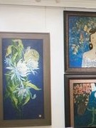 Unique Vietnamese lacquer paintings introduced to public