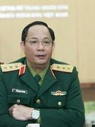 Thượng tướng Trần Quang Phương đến thăm và chúc tết Tạp chí Văn nghệ Quân đội