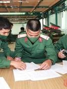 Ngày đầu trong môi trường mới của các tân binh Sư đoàn 307