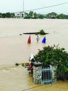 Miền Trung lũ lụt, tình người
