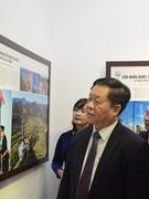 Photo exhibition on Vietnam's border areas opens in Hanoi