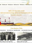 Triển lãm sách trực tuyến kỉ niệm 110 năm Ngày Bác Hồ ra đi tìm đường cứu nước
