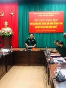 Hội thảo bản thảo cuốn sách về quan hệ quốc phòng Việt Nam - Cuba