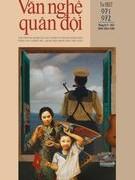 Tạp chí Văn nghệ Quân đội số 971+972  (số đặc biệt chào mừng Quốc khánh 2/9)