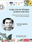 Nhà thơ Trần Quang Đạo và nhà văn Võ Khắc Nghiêm đoạt Giải thưởng văn học ASEAN