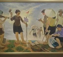 Phạm Trí Tuệ: Vẽ để giải phóng con tim