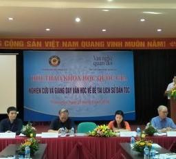 Hội thảo quốc gia Nghiên cứu và giảng dạy văn học về đề tài lịch sử dân tộc