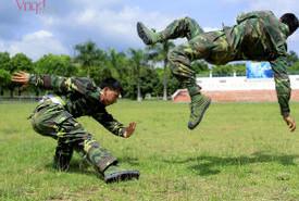 Huấn luyện trên thao trường