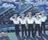 Hình tượng biển đảo và chiến sĩ hải quân trong tranh Hồ Minh Quân