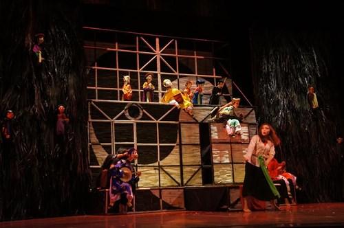 """""""Hồn Trương Ba, da hàng thịt"""" lên sân khấu múa rối"""