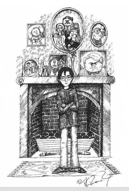 Tiết lộ khả năng hội họa của JK Rowling