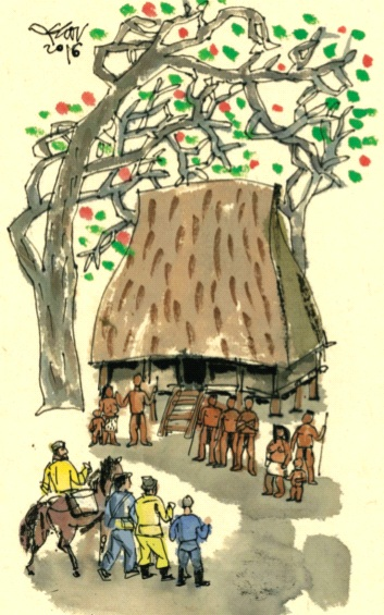 Mưa ở Kon Gung - Truyện ngắn của Đặng Minh Sáng