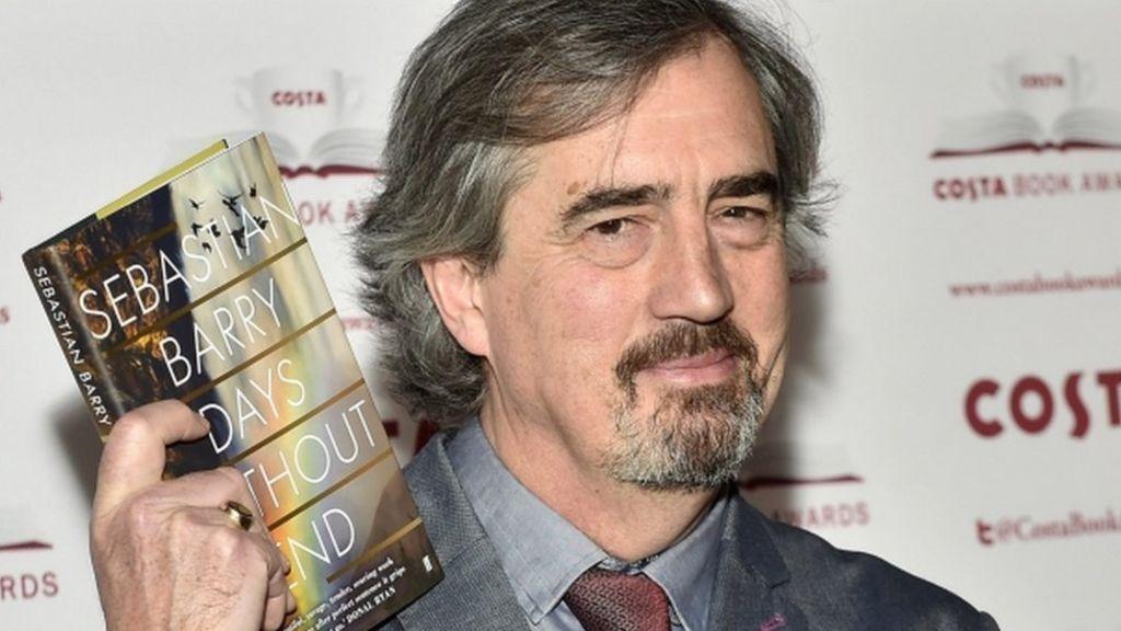 Sebastian Barry hai lần đoạt giải Costa Book của năm