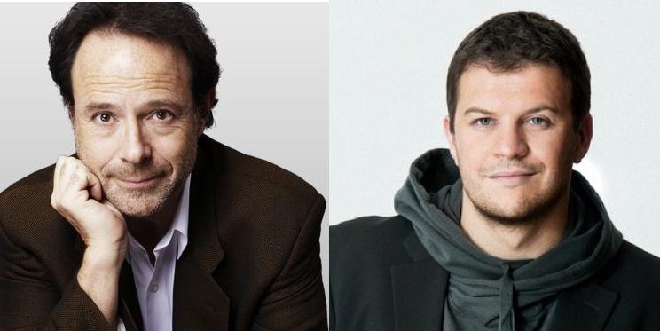 Chân dung Marc Levy và Guillaume Musso