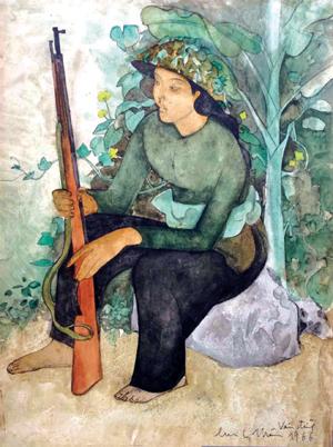 """Triển lãm """"Chân dung phụ nữ Việt Nam trong chiến tranh"""""""