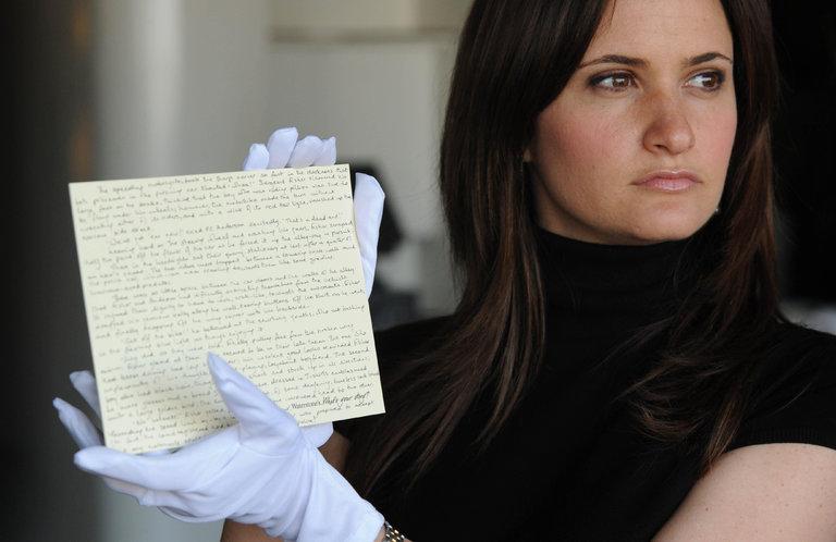 Bản thảo viết tay liên quan đến bộ truyện Harry Potter đã bị lấy cắp