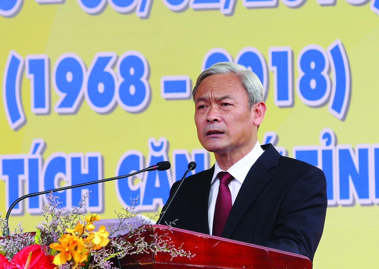 Bí thư Tỉnh ủy Nguyễn Phú Cường