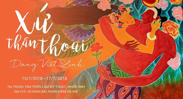 exhibition the wonderland Dang Viet Linh