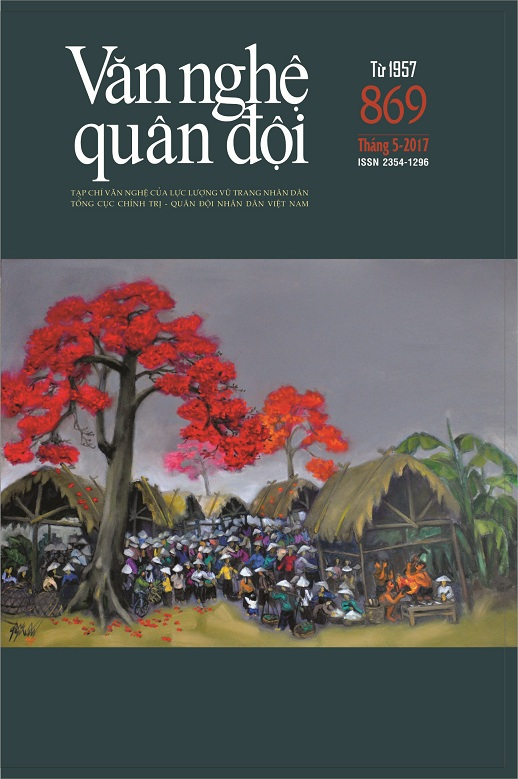 Tạp chí Văn nghệ Quân đội số 869 (cuối tháng 5/2017)